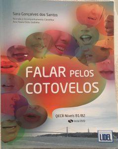 Book called Falar Pelos Cotovelos - Níveis B1/B2