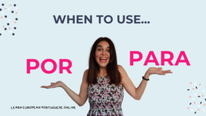 When to use por vs para with practice examples