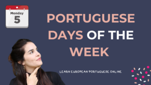 Portuguese Days Of The Week