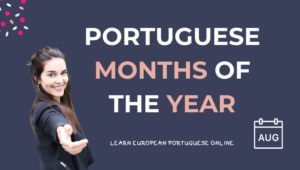 Portuguese Months Of The Year
