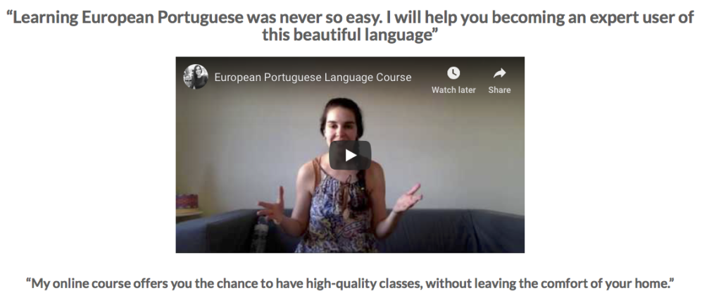 Learning Portuguese Online