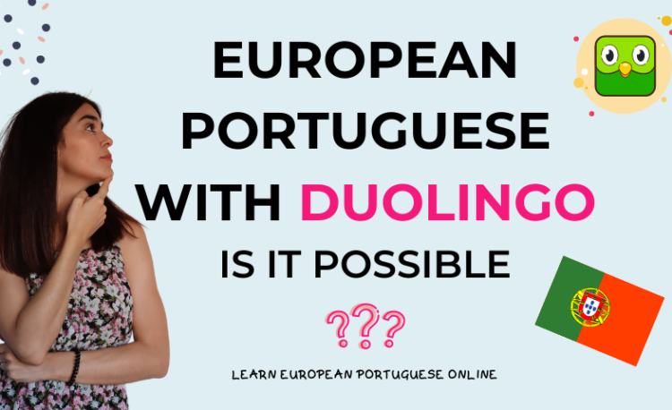 European Portuguese with Duolingo
