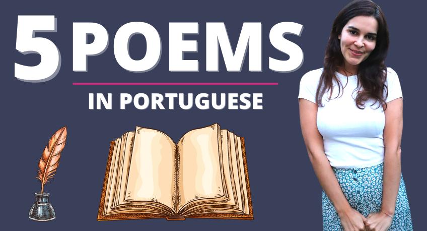 5 POEMS IN PORTUGUESE