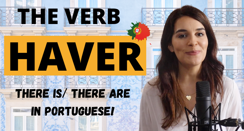 THERE IS in Portuguese HAVER THUMBNAIL BLOG POST